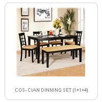 COS- CIAN DINNING SET (1+1+4)